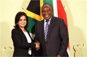 south africa appointment of women for the first time as the top prosecutor