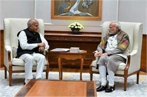 tamil nadu governor meets modi discusses issues related to the state
