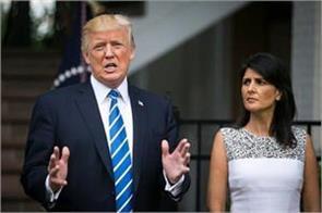 us ambassador to un nicky haley may become trump  s successor
