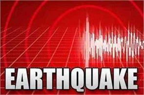 earthquake shocks felt in western part of iran