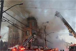 23 people scorched by fire in new york