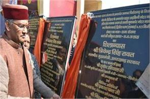 chief minister inaugrated the development schemes of crores rupees