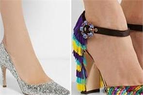 high heel footware