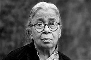 google made doodle in honor of mahasweta devi