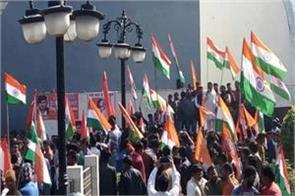 vhp launches tricolor journey in agra