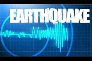 earthquake shocks felt in northern india