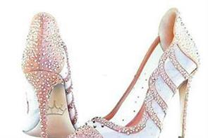 surprisingly the price of this pair of diamond studded shoes