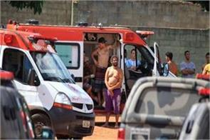 brazil riot death of nine inmates old clash of two groups in prison