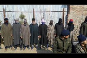 11 ogw arrested in kashmir