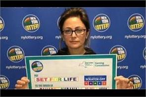 us woman wins 5 million dollar from lottery ticket