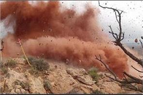 landslide blast in afganistan 8 killed