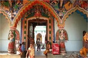 unique initiative of temple in odisha  no helmet is allowed to worship