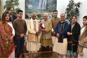 rajasthan governor kalyan singh s 86th birthday celebrated