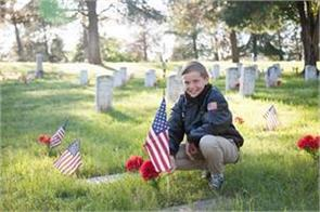 the boy reminds us why we stand on the national anthem trump