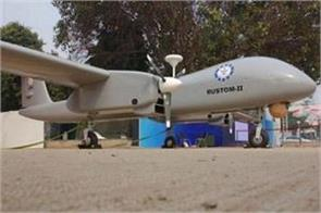 senna successfully tests drone rustom 2