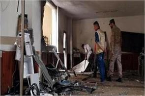 libyan mosque blast 2 injured in 55 injured