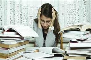 stay away from stress during the exam