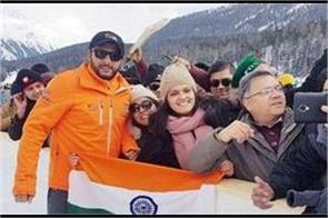 shahid afridi respect for indian flag