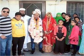 muslim family has adopted son custom for hindu customs