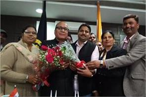 jagdish raj raja takes charge of jalandhar city mayor