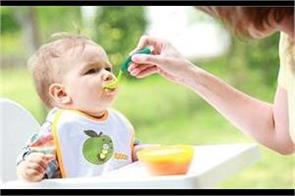 after 6 months of breastfeeding give these foods to the children