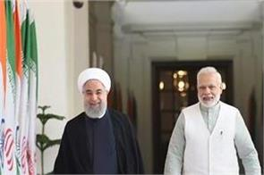 signing 9 agreements between india and iran