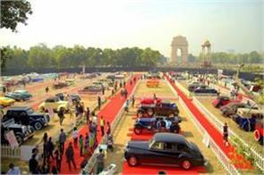 vintage cars will run on the streets of the delhi
