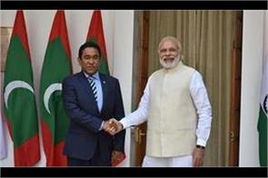 india is disappointed and worried by increasing emergency in maldives