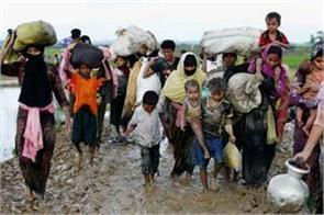 rohingya muslims will find shelter on a deserted island
