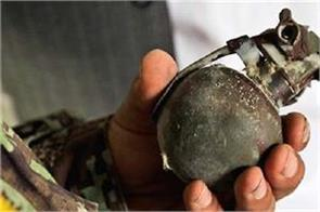 alive hand grenade blast in home