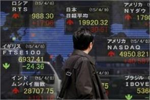 american market slips weakness in asian markets