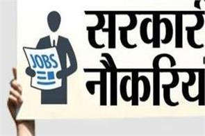 job opportunity for getting government jobs for diploma holders