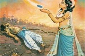 during the war arjun was killed by his son