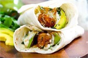 chicken  avocado ranch burritos
