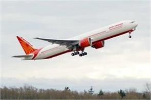 air india s plane reached israel for the first time