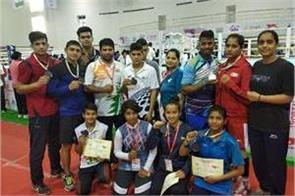 city boxers won 1 silver and 7 bronze in the national boxing championship
