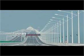china s longest bridge in the world used to equalize 60 eiffel tower