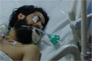 militant and spo s injured wife admitted in same icu