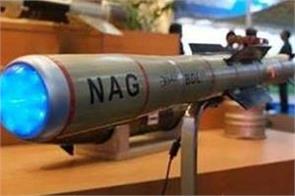 india tests nag missile
