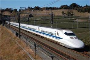 ahmedabad mumbai bullet trains will be completed in 2 hours