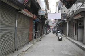 closed delhi sarafa bazar