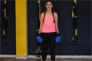 shoulders and cardio workout
