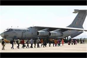 airforce lifted stranded passenger to ladakh