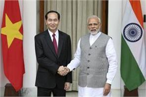 india vietnam resolve to keep india pacific region open