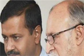 lg rejected the proposal of kejriwal