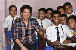 sachin tendulkar issued funds for kashmir s school