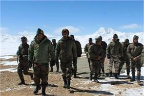 army chief visited ladakh