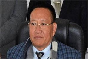 nagaland cm jailiang gives resignation new government in the state soon
