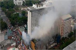 3 people killed in fire in philippines hotel