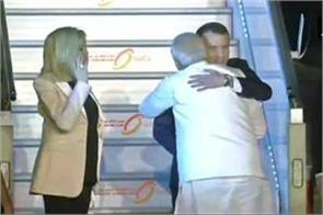 french president emmuel maceron pm welcomes welcome to india